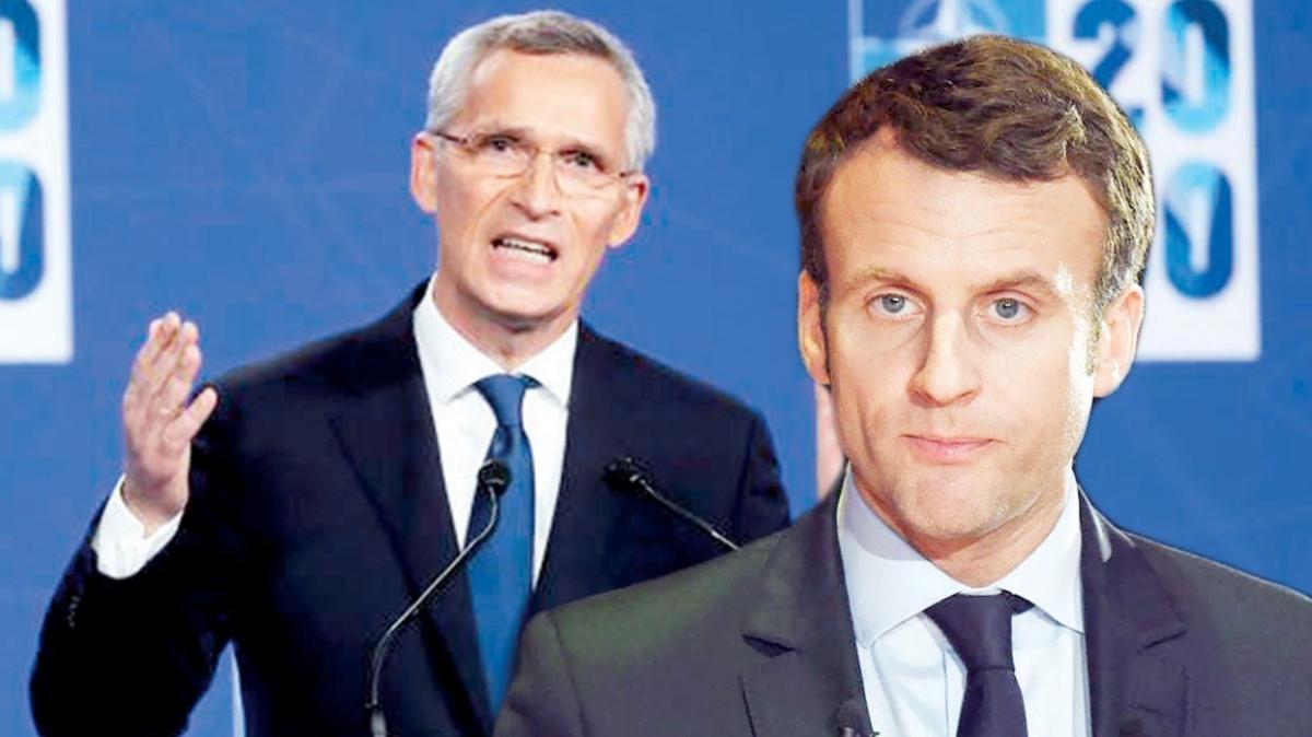 NATO'dan Macron'a sert uyarı: Bizi bölmeye uğraşma
