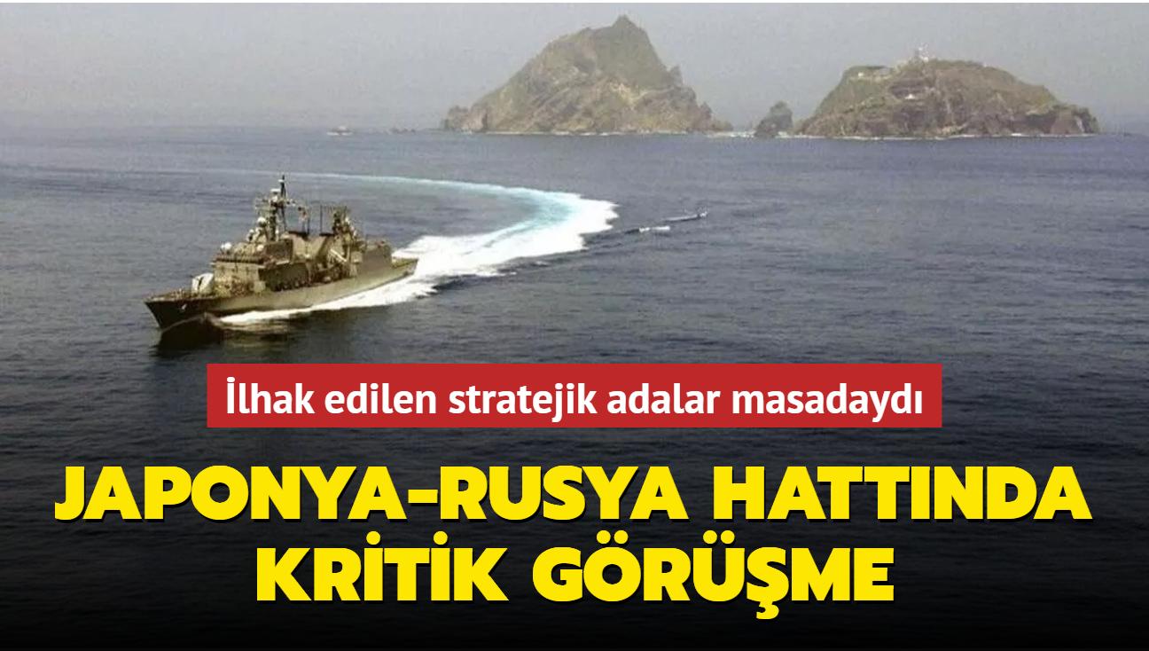 İlhak edilen stratejik adalar masadaydı... Japonya ve Rusya arasında kritik görüşme