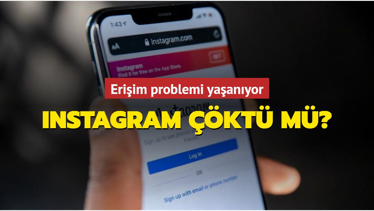 Instagram'da erişim problemi yaşanıyor