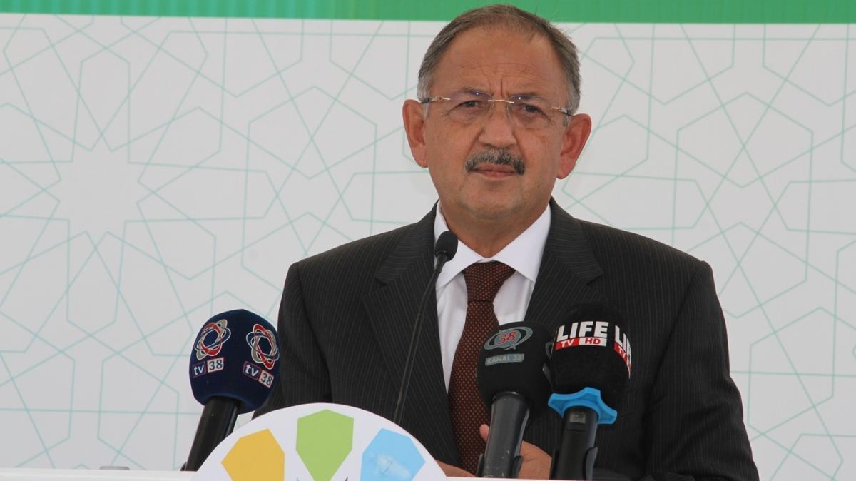 AK Parti Genel Başkan Yardımcısı Özhaseki, Kayseri'de açılış ve temel atma törenlerine katıldı