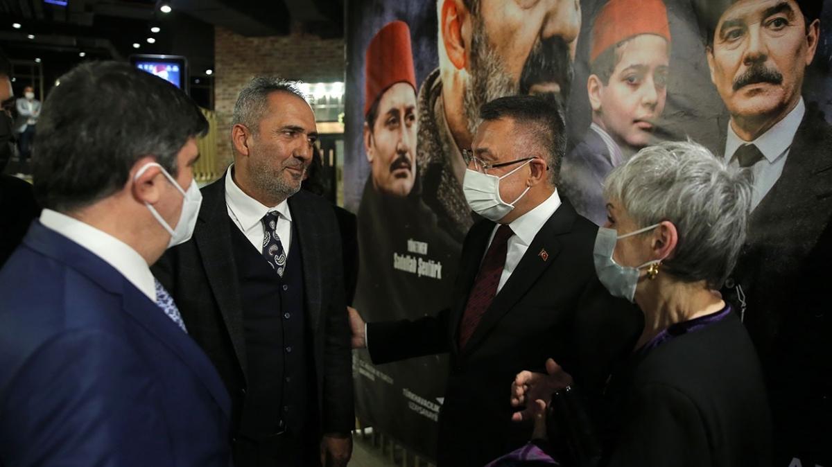 Akif filminin galası yapıldı! İstiklal dünün değil, bugünün mücadelesidir
