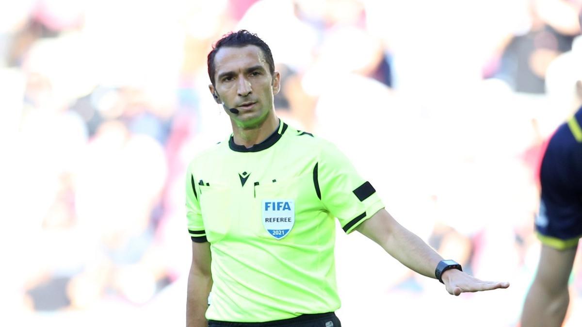 Azerbaycan maçına Abdulkadir Bitigen atandı