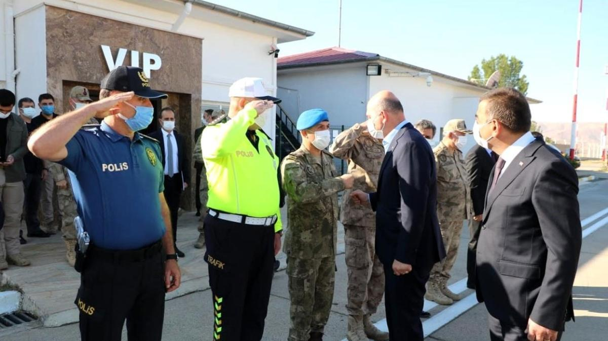 Bakan Soylu, Siirt'te çinko izabe tesisini ziyaret etti