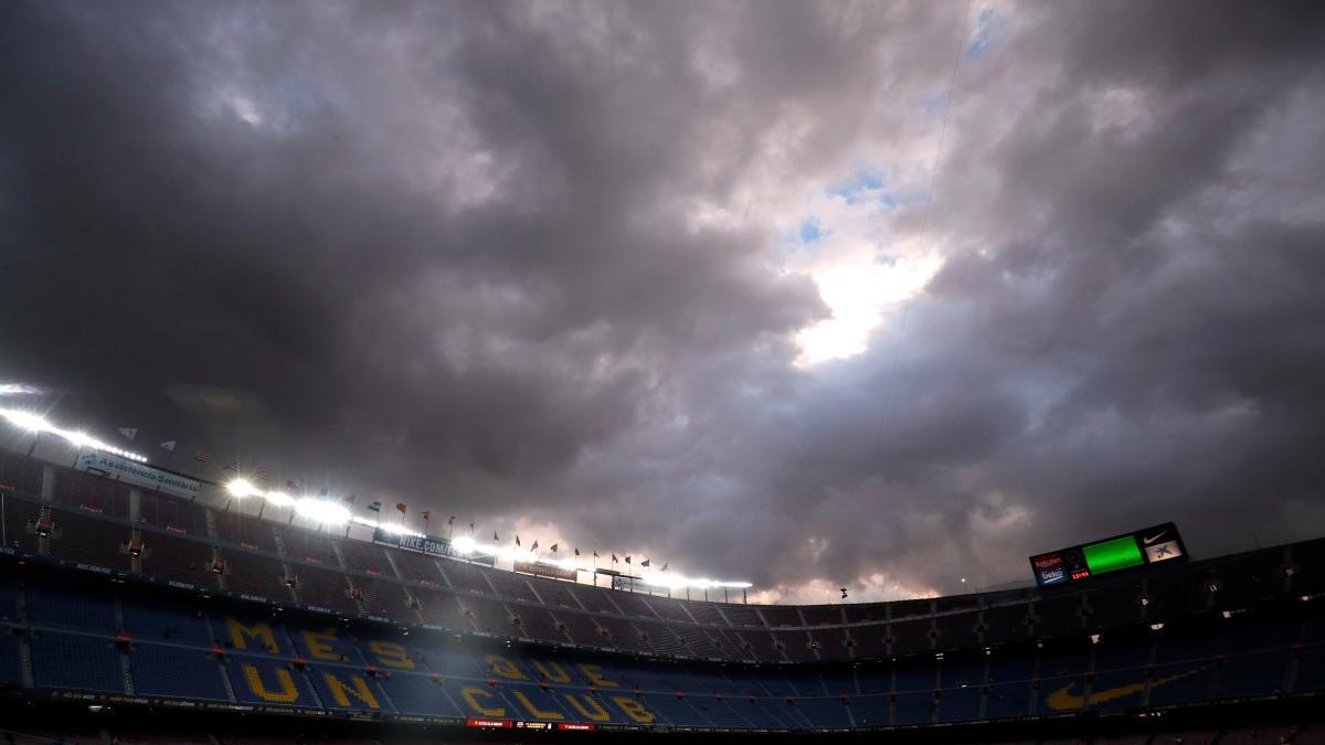Barça'ya bir darbe de Camp Nou'dan