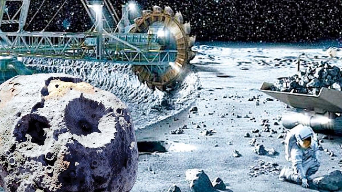 Dünya'dan daha fazla maden içeriyor! Göktaşında 12 trilyon dolarlık maden keşfi