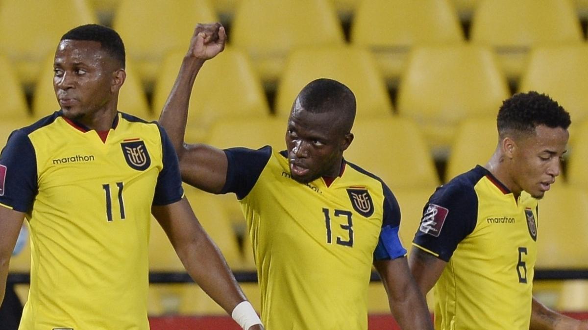 Ekvador'un Bolivya'yı 3-0 mağlup ettiği maçta Enner Valencia'dan 2 gol