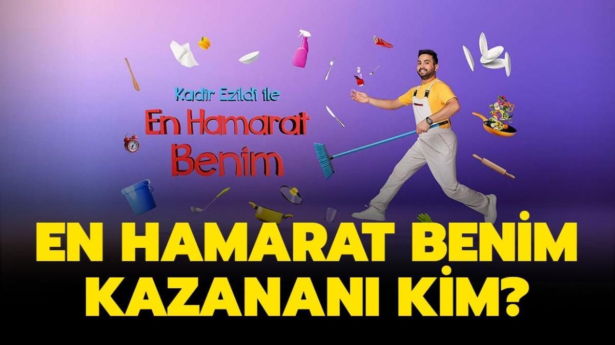 """En Hamarat Benim haftanın birincisi belli oldu! En Hamarat Benim 8 Ekim 2021 kazananı kim"""""""