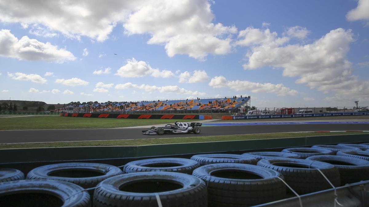 F1 Türkiye GP'si antrenman turlarında ceza ve rekor
