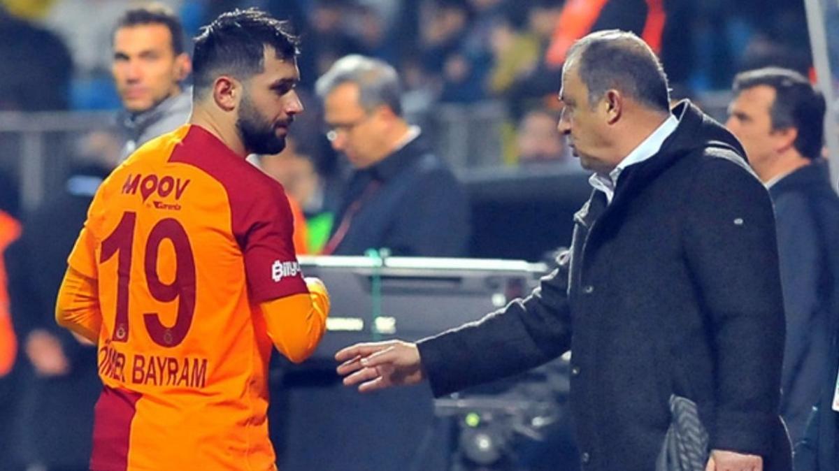 Galatasaray'da Ömer Bayram'ın önü açıldı