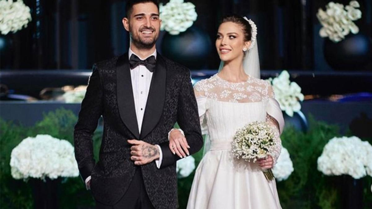 İdo Tatlıses ile Yasemin Şefkatli evlendi