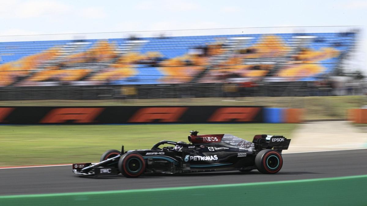 Lewis Hamilton İstanbul Park'ta pist rekoru kırdı