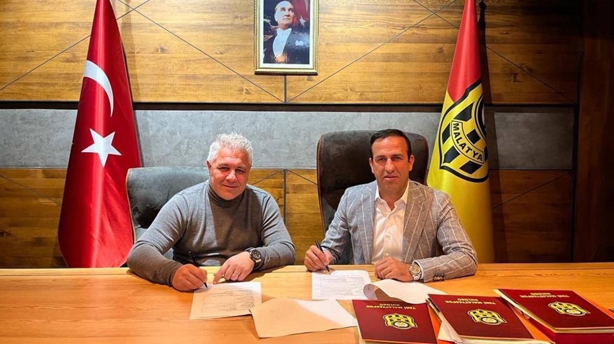 Yeni Malatyaspor Marius Sumudica'ya emanet