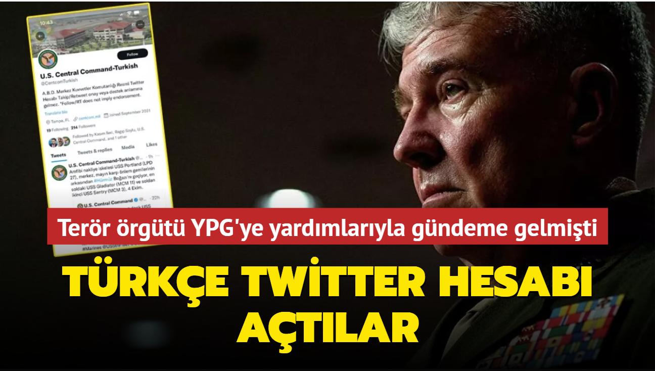 Terör örgütü YPG'ye yardımlarıyla gündeme gelmişti... Türkçe Twitter hesabı açtı