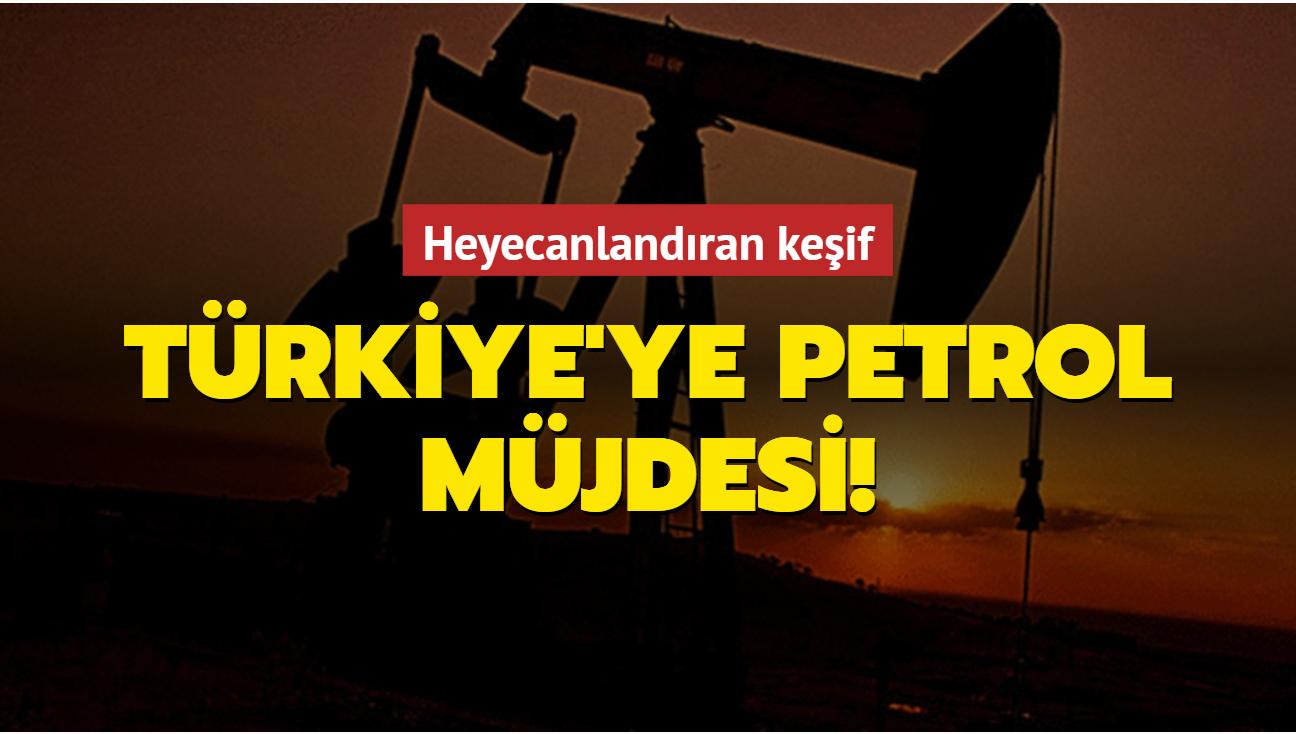 Türkiye'ye petrol müjdesi! Heyecanlandıran keşif