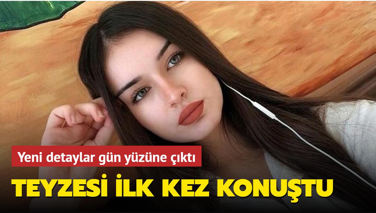 Aleyna Ağgül'ün ölümünde yeni detaylar gün yüzüne çıktı: Teyzesi ilk kez konuştu
