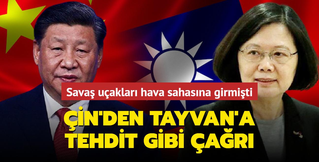 """Çin'den Tayvan'a çağrı... """"Barışçı yollarla birleşelim"""""""