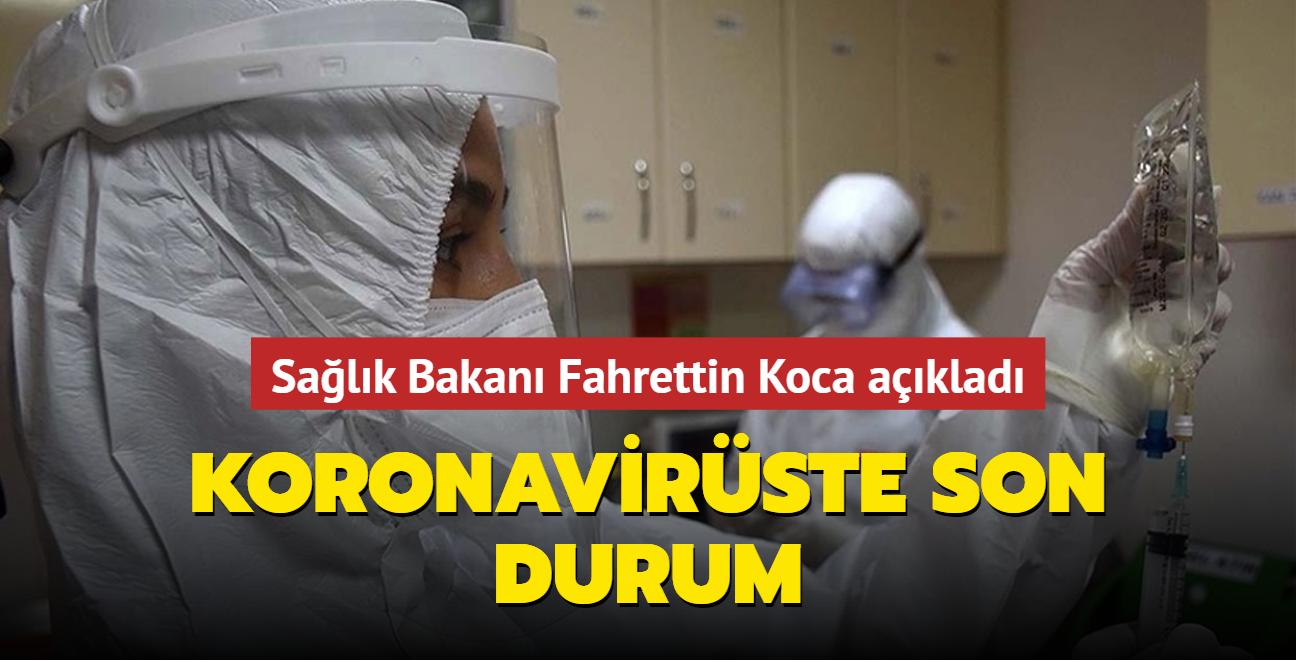 Sağlık Bakanı Fahrettin Koca Kovid-19 salgınında son durumu açıkladı... İşte 9 Ekim 2021 koronavirüs tablosu