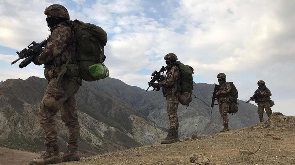 5 YPG/PKK'lı terörist etkisiz hale getirildi