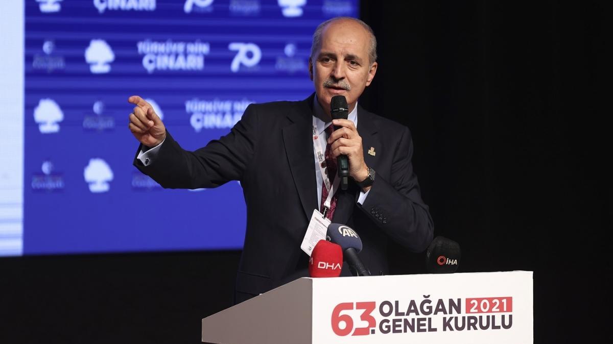 AK Parti Genel Başkanvekili Numan Kurtulmuş: Müttefiklerimizin müttefiklik ilişkisine uygun davranmalarını temenni ediyoruz