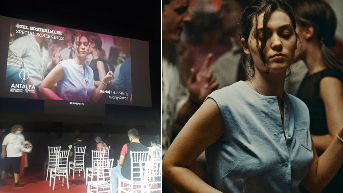 Altın Portakal'da gösterime giren 'Kürtaj' filmi izleyenleri hastanelik etti