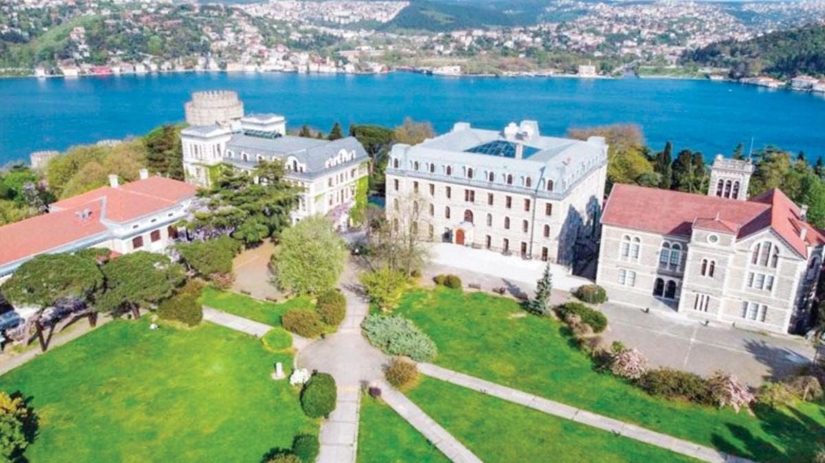 Boğaziçi Üniversitesi imara açma planı yok