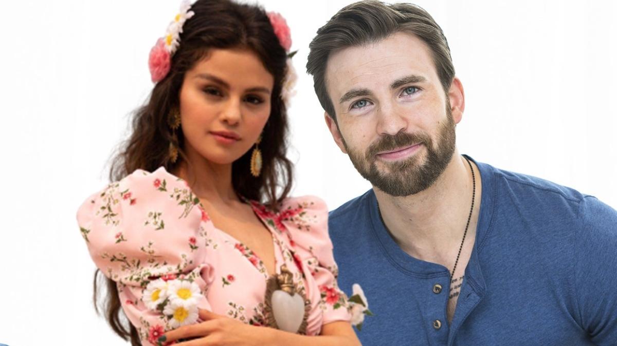 """Selena Gomez ile Chris Evans aşk mı yaşıyor"""""""