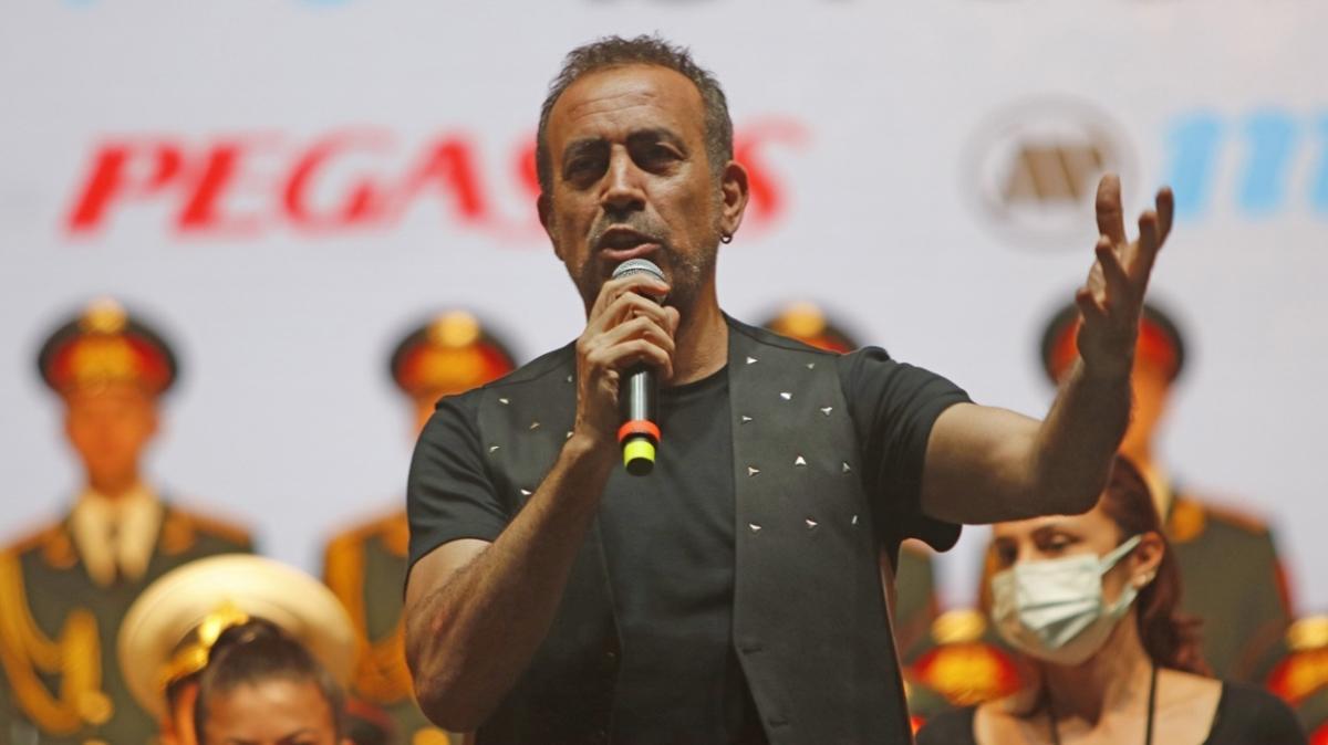 Fethiye'de rüzgar gibi estiler... Haluk Levent ve Rus Kızılordu Korosu konser verdi