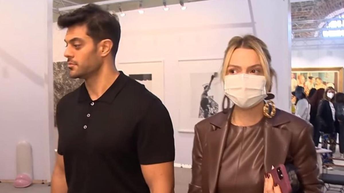 Hadise ve Mehmet Dinçerler'e sorulan soru çifti kaçırdı
