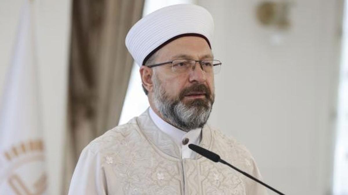 Kudüs İslam'a aittir! Diyanet İşleri Başkanı Erbaş'tan İsrail mahkemesine kınama