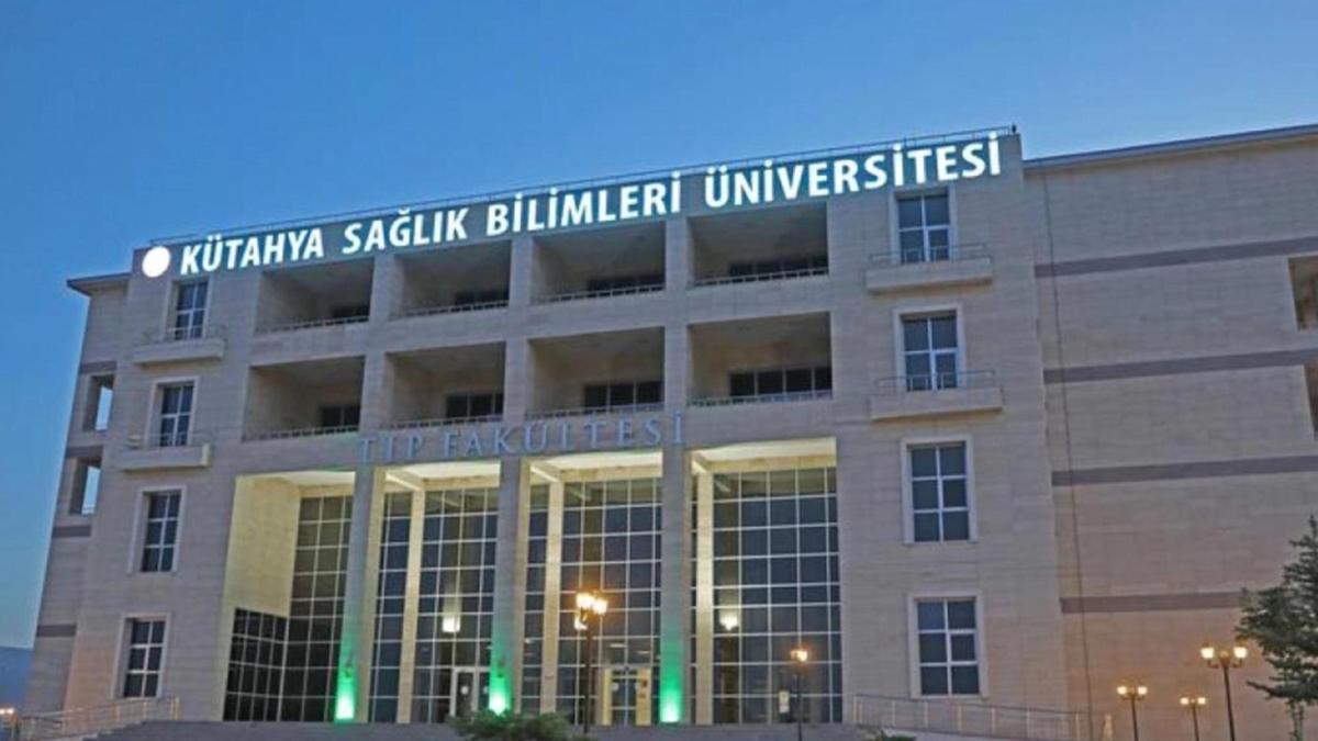 Kütahya Sağlık Bilimleri Üniversitesi 20 öğretim üyesi alacak!