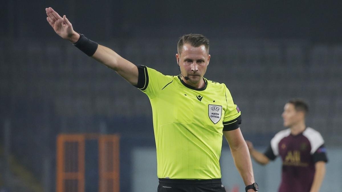 Letonya-Türkiye maçının hakemi Andreas Ekberg oldu
