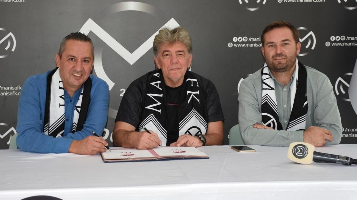 Manisa FK'nin yeni teknik direktörü Naci Şensoy imzayı attı