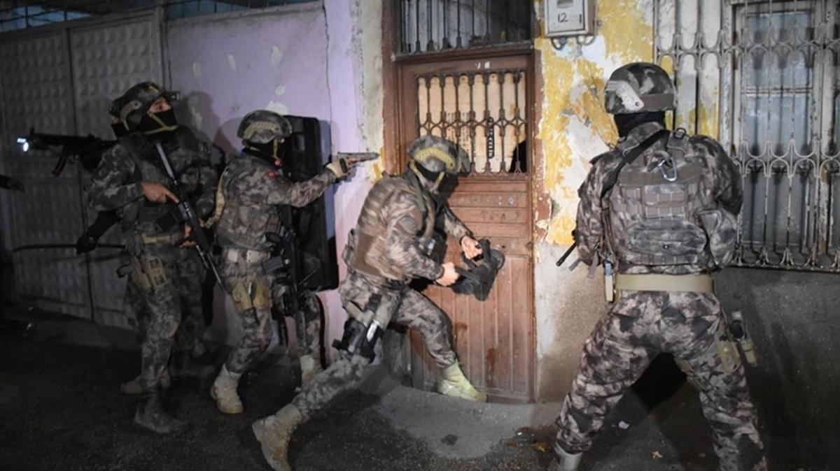 Mersin'de terör örgütü PKK'nın dağ kadrosuyla bağlantılı zanlı tutuklandı