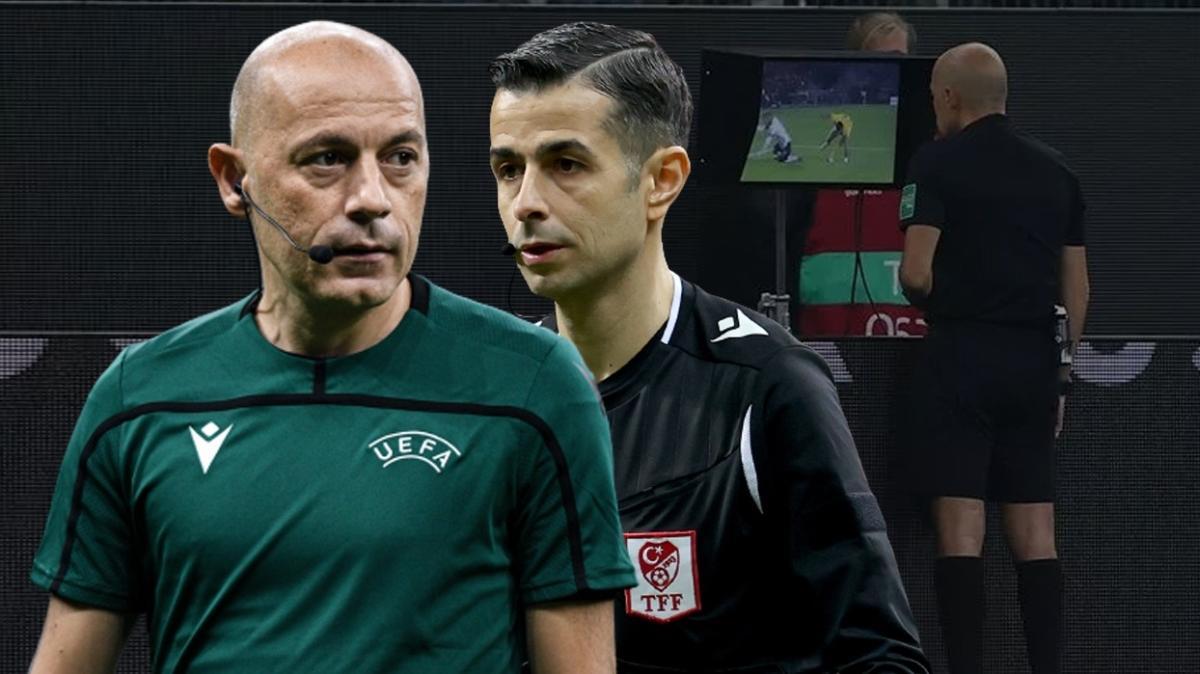 Mete Kalkavan Cüneyt Çakır'ı ipten aldı! Almanya-Romanya maçında...
