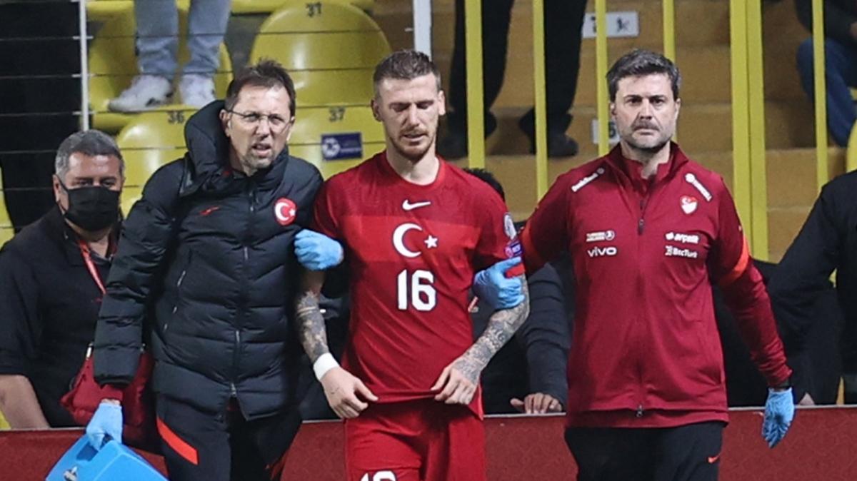Serdar Aziz sakatlandı, maça devam edemedi