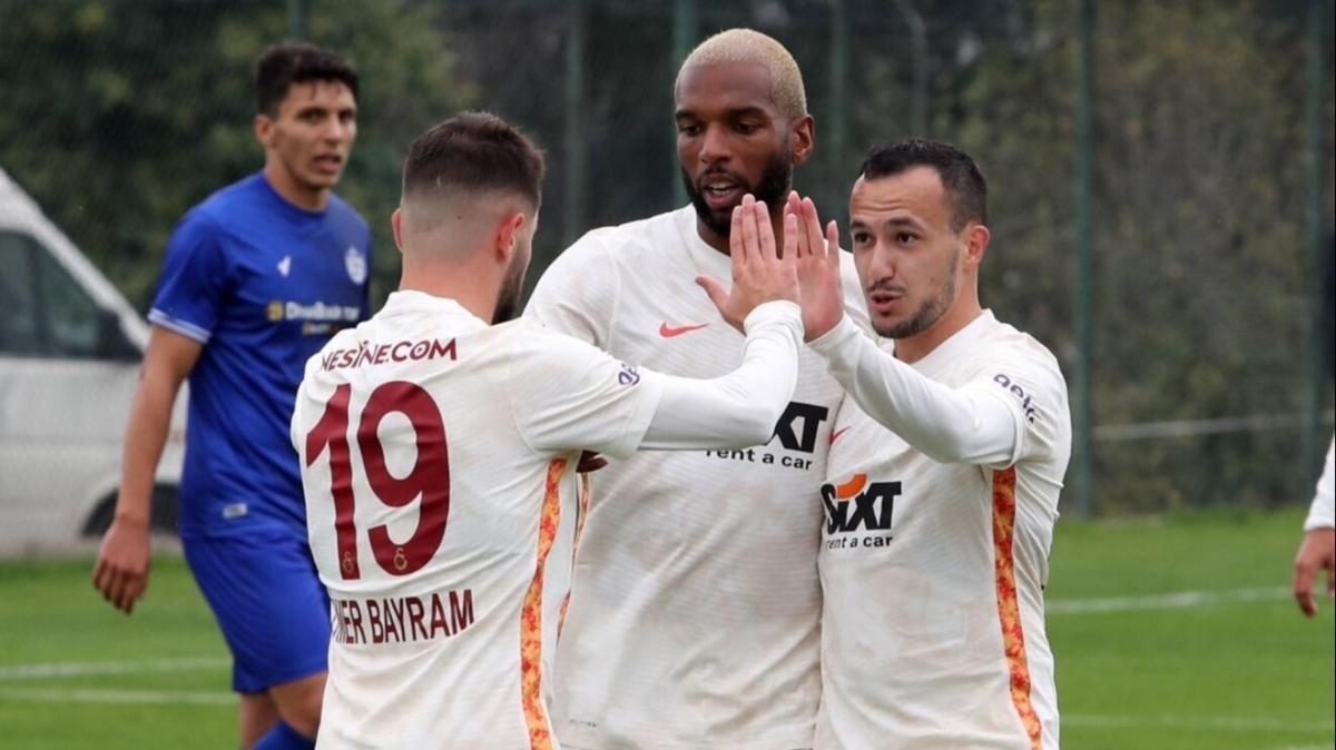 Tam 7 gol vardı: Galatasaray, Tuzlaspor'u mağlup etti