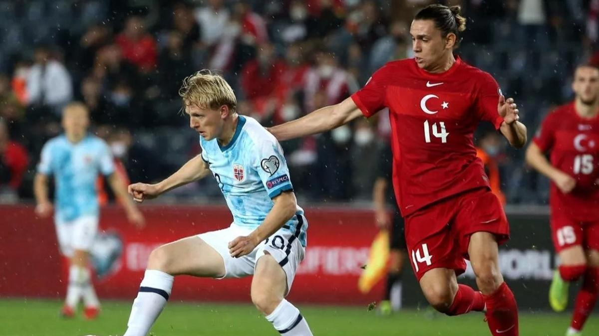 Taylan Antalyalı'dan Norveç maçı sonrası itiraf