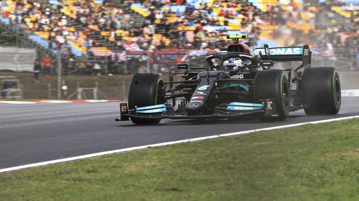 Türkiye Grand Prix'sinde pole pozisyonu Valtteri Bottas'ın oldu