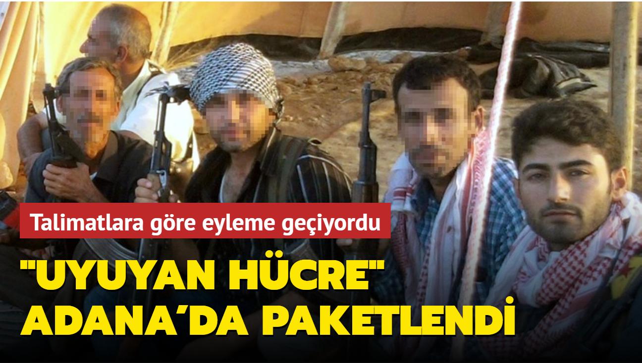"""""""Uyuyan hücre"""" Adana'da paketlendi"""