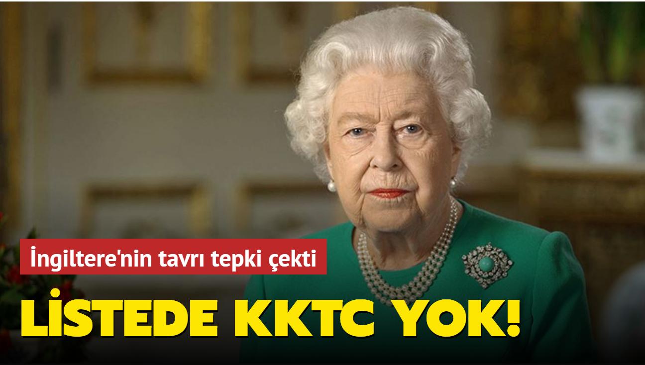 Kraliçe'nin Baton Yarışı'na KKTC dahil edilmedi