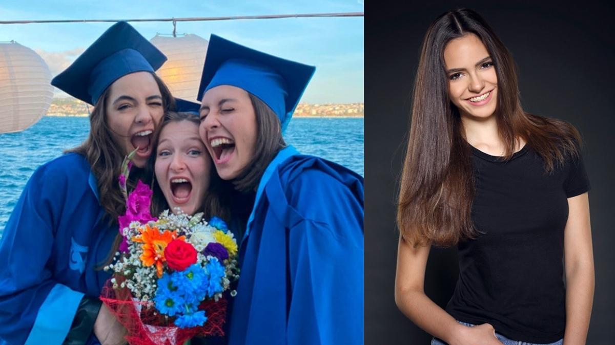 2015 Türkiye güzellerinden Aslı Melisa Uzun, üniversiteden mezun oldu
