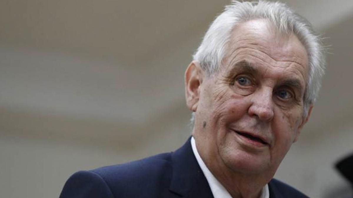 Çekya Cumhurbaşkanı Milos Zeman hastaneye kaldırıldı