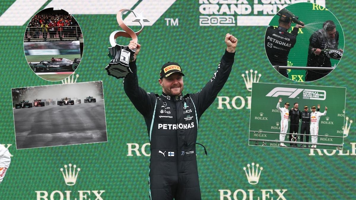 Formula 1 Türkiye Grand Prix'sini Valtteri Bottas kazandı