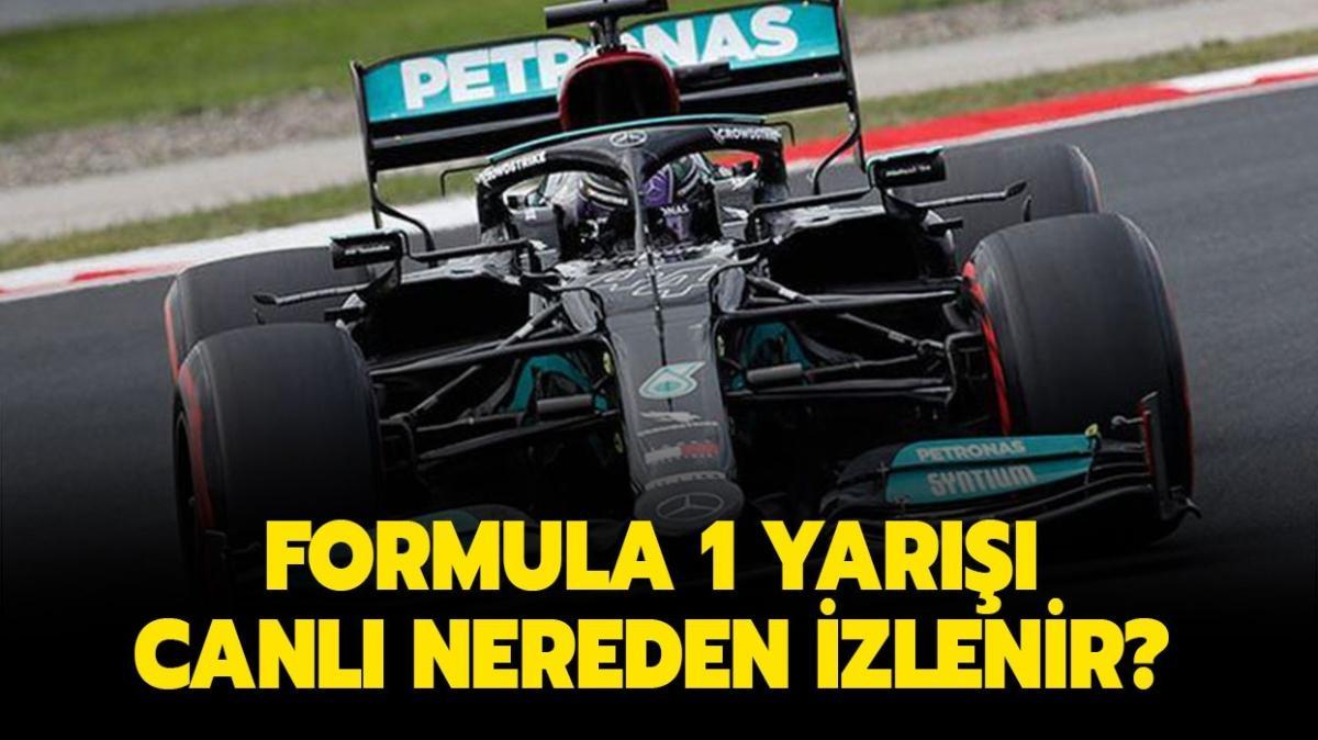 """Türkiye GP hangi kanalda, canlı nereden izlenir"""" Formula 1 yarışı saat kaçta, başladı mı"""""""