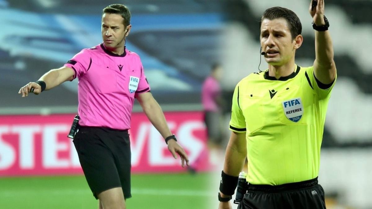 UEFA'dan Halis Özkahya ve Halil Umut Meler'e görev