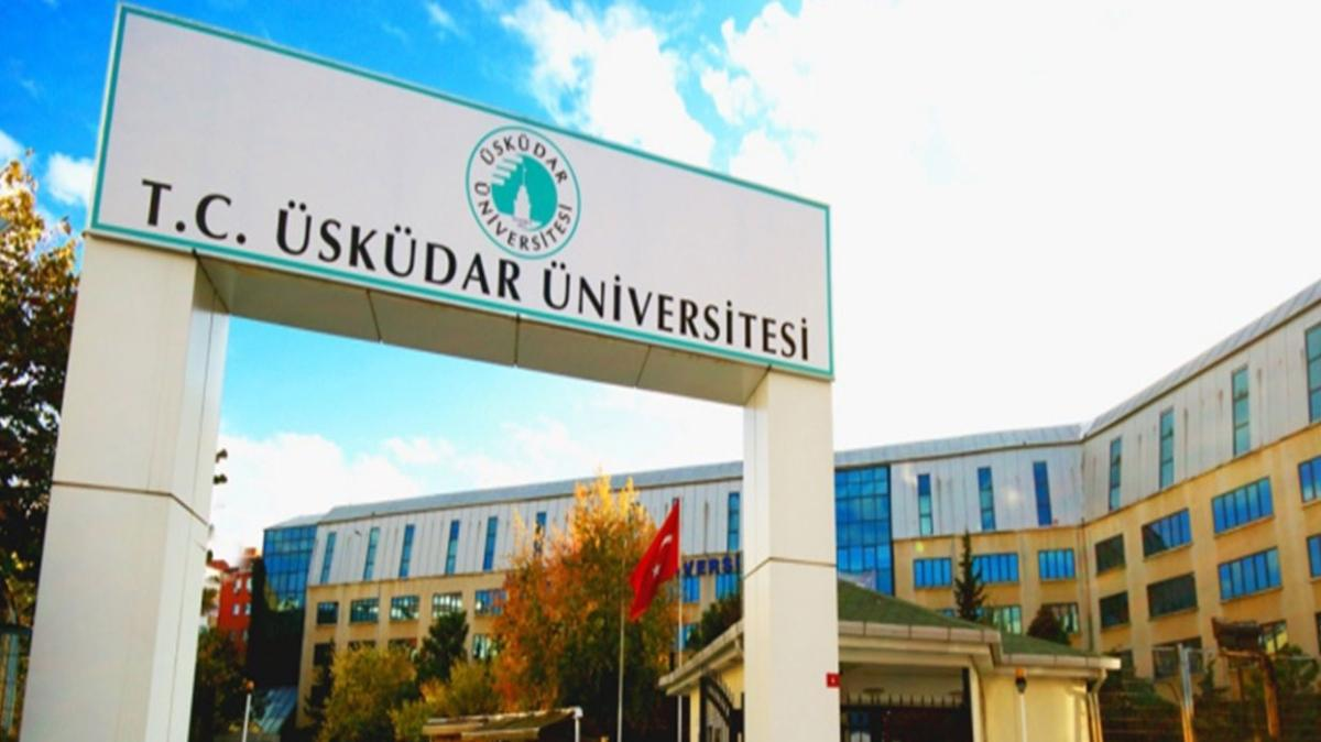 Üsküdar Üniversitesi 63 akademik personel alacak!