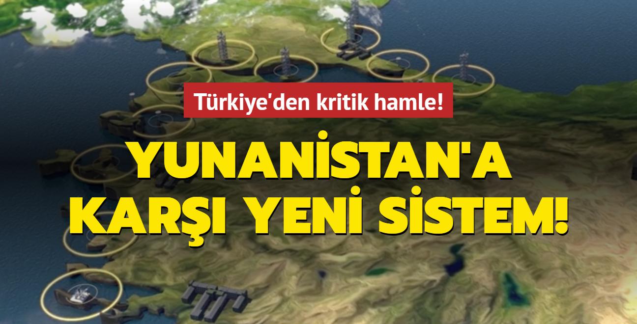 Türkiye'den kritik hamle! Yunanistan'a karşı yeni sistem!