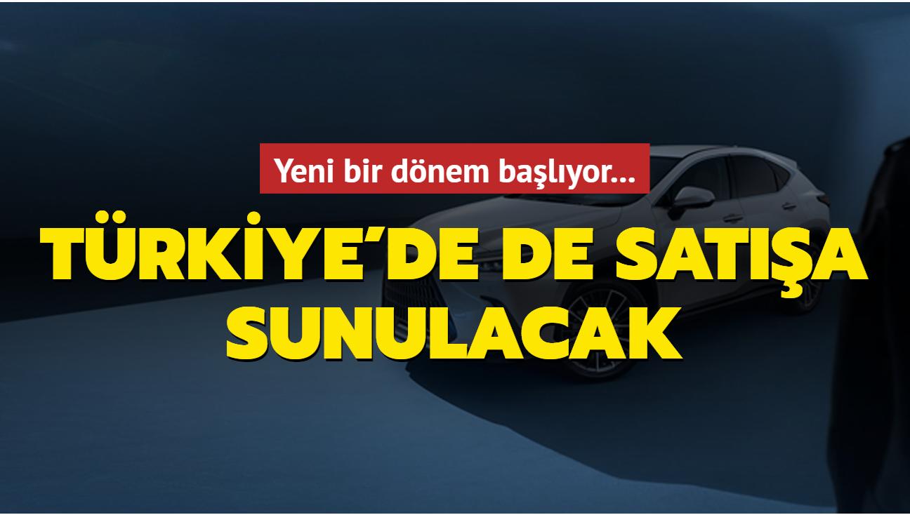 Yeni bir dönem başlıyor! Türkiye'de de satışa sunulacak