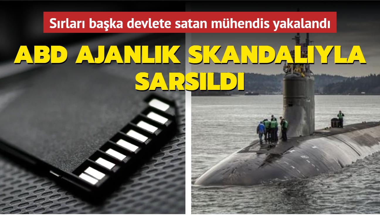 ABD'de nükleer denizaltılara dair sırları başka devlete satan mühendis yakalandı
