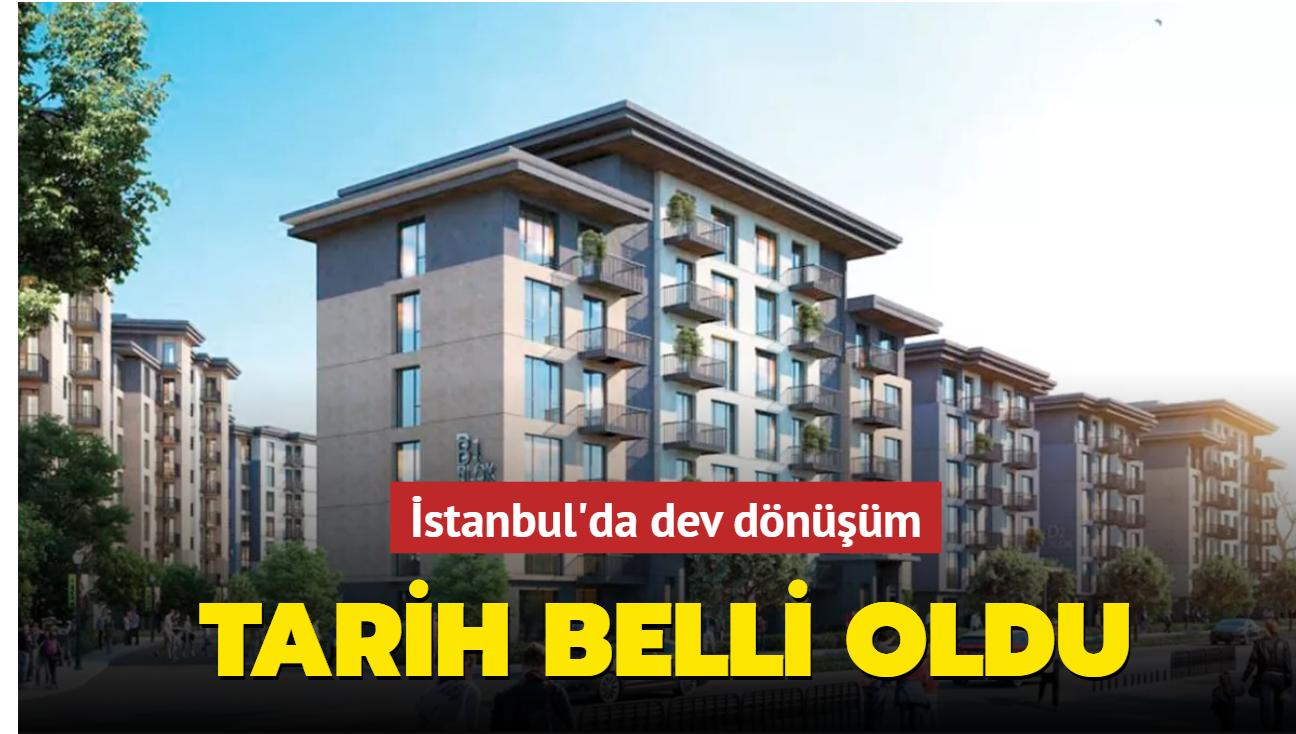 İstanbul'da 102 bin konut 2023'e kadar dönüşecek